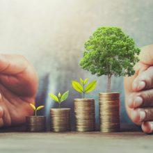 Lietuvos gyventojų investuojamų lėšų apyvarta šių metų balandį išaugo dvigubai