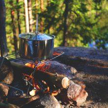 Patarimai stovyklaujantiems: kaip išvengti pavojų gamtoje?