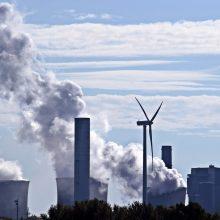 G. Nausėda: tikslas sumažinti anglies dioksido išmetimą 55 proc. – ambicingas