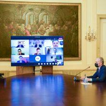 Prezidentas: Seimo darbas negali nutrūkti ilgesniam laikui