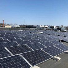 """Ant """"Maximos"""" stogo Vilniuje – saulės energijos jėgainė"""
