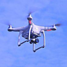 Vagims prireikė dronų: išdaužė langą ir pavogė iš prekybos centro