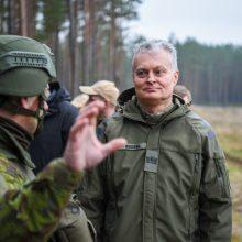 G. Nausėda: Lietuvos karių Irake saugumu buvo pasirūpinta