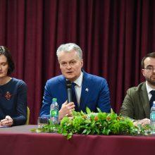 G. Nausėda: ne Prezidentūra turėtų siūlyti Seimo rinkimų sistemos pertvarkas