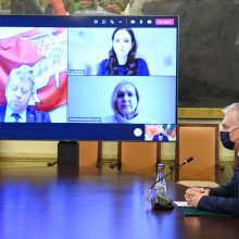 Prezidentūra po susitikimo su profsąjungų atstovais: svarstomi nedarbo draudimo pokyčiai