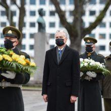 Šalies vadovai sveikina karius Lietuvos kariuomenės dienos proga