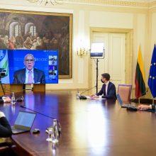 Prezidentas: EBPO įžvalgos bus naudingos ir naujajai šalies valdžiai