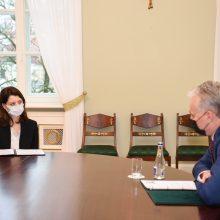 Prezidento patarėjas: M. Navickienė prezidentui paliko gerą įspūdį