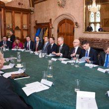 G. Nausėda kviečia Londono finansų bendroves į Lietuvą