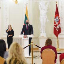 G. Nausėda: nauja Vyriausybė privalo turėti aiškų koronaviruso valdymo planą