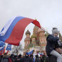 Rusijoje už gimusius vaikus bus skiriamos 9 tūkst. eurų siekiančios išmokos
