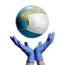 Pasaulyje nustatytų COVID-19 atvejų skaičius viršijo 100 mln.