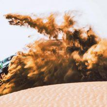 """Sunkiausias """"Agrorodeo"""" komandos finišas Dakare: rezultatas subyrėjo į akmenis"""