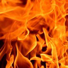 Gargžduose gaisro metu žuvo senolis
