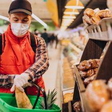 Smulkieji prekybininkai abejoja sprendimo riboti klientų srautus efektyvumu