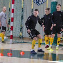 Lietuvos futsalo rinktinės treneris: mūsų laukia aukštos klasės varžovai