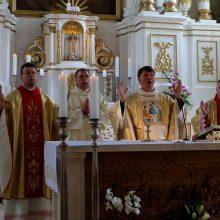 Garliaviškiai atšventė miesto ir bažnyčios jubiliejus
