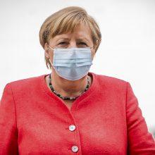 """A. Merkel: galutinis sprendimas dėl """"Nord Stream 2"""" bus Europos, o ne vien Vokietijos"""