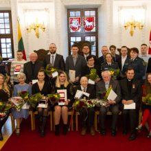 Miesto herojams įteikti garbingiausi Kauno apdovanojimai