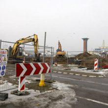 Startavo Naujosios perkėlos rekonstrukcija: tikimasi, kad sumažės eilės