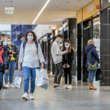 Parduotuvės prekybos centruose gali veikti ir savaitgaliais