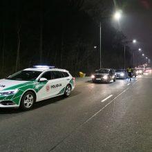 Kauno pareigūnams savaitgalį įkliuvo ne vienas neblaivus vairuotojas