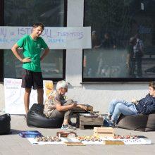 Žaliakalnio bendruomenė būrėsi stalo žaidimams ir pašnekesiams