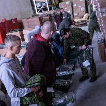 Vaidoto batalione tarnybą pradėjo penktoji šauktinių laida