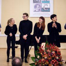 Paaiškėjo Tarptautinio M. K. ČIurlionio pianistų konkurso finalininkai