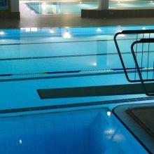 Tauragės sporto centrui leista būti naujo baseino operatoriumi