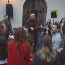 Jurgis DID pristato muzikinį klipą, įamžinantį lietuvių palaikymą Baltarusijai