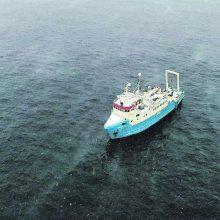 Jūroje tiria kabelio į Lietuvą maršrutą