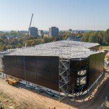 Lazdynų baseino statybą ketinama baigti iki 2022-ųjų