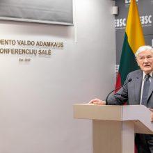 Rytų Europos studijų centre atidaryta prezidento V. Adamkaus vardo konferencijų salė