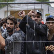 Migrantai veržiasi ir į Lenkiją: Varšuva prakalbo apie Minsko hibridinį karą prieš ES