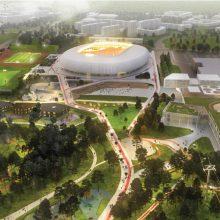 Nacionalinio stadiono statybos: ar pašalinta bendrovė sugrįš į konkursą?