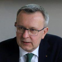 Lietuvos bankų asociacijos prezidentas: S. Jakeliūno teiginiai – absurdiški