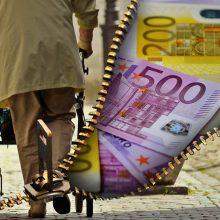 Tyrimas: lietuviai savo pensija rūpinasi mažiausiai Baltijos šalyse