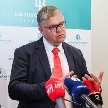 V. Vasiliauskas: dabar būtų sunku kalbėti apie NT mokestį