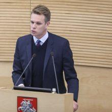 G. Landsbergis: nematau prasmės atstatydinti V. Pranckietį