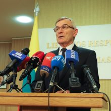V. Pranckietis ragina valdančiuosius teikti projektą dėl jo atstatydinimo