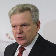J. Narkevičius siūlo vėl nuimti sugrąžintas žaliąsias rodykles