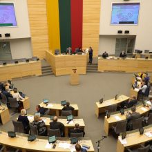 Balsavimą dėl kartelės opozicija vadina prezidento ir sveiko proto pergale