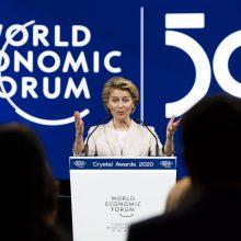 U. von der Leyen įspėjo ES prekybos partneres dėl klimato muitų