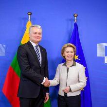 G. Nausėda: Lietuva pasisako už EK pasiūlytą ES biudžeto dydį