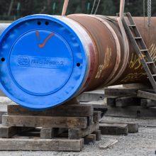 """JAV mato pažangą dėl """"Nord Stream 2"""" projekto stabdymo"""