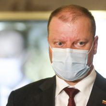 Siūlo, kad po keturių mėnesių dėl karantino pratęsimo spręstų Seimas