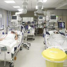 Ligoninėse šiuo metu gydomi 1198 COVID-19 pacientai, iš jų 110 – reanimacijoje