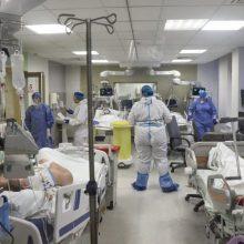 Ligoninėse gydoma 2,3 tūkst. COVID-19 pacientų, 194 – reanimacijoje