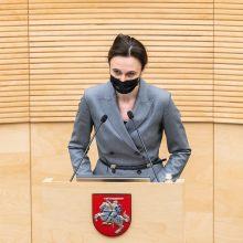 V. Čmilytė-Nielsen apie COVID-19 vakcinas verslui: vertėtų peržiūrėti galiojančias tvarkas